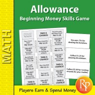 Allowance: Beginning Money Skills Game