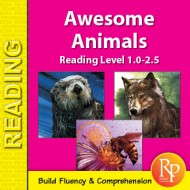 Easy Reading Awesome Animals