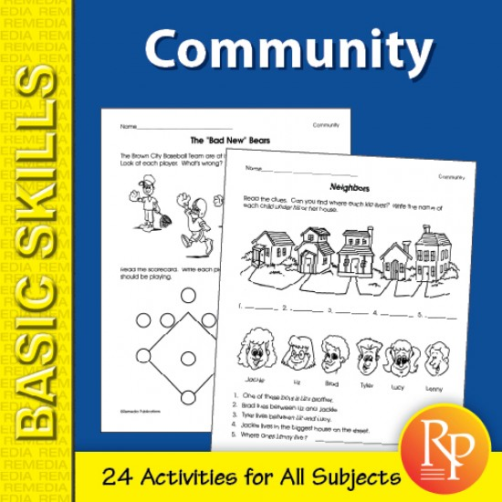 Community: Primary Skill-Builder Unit for All Subjects (eBook)