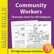 Community Helpers: Thematic Skill-Builder Unit for All Subjects (eBook)