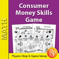 Department Store Math: Consumer Money Skills Game