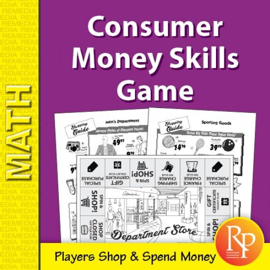 Department Store Math: Consumer Money Skills Game