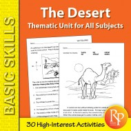 Desert: Thematic Skill-Builder Unit for All Subjects (eBook)