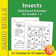 Insects: Thematic Skill-Based Activities for Grades 1-2 (eBook)