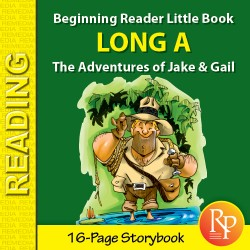 Long A: Beginning Reader Storybook