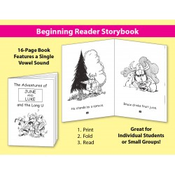 Long U: Beginning Reader Storybook