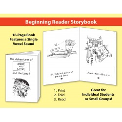 Long i: Beginning Reader Storybook