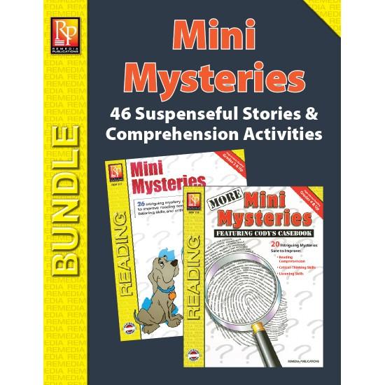 Mini Mysteries: Stories & Comprehension Activities (Bundle)