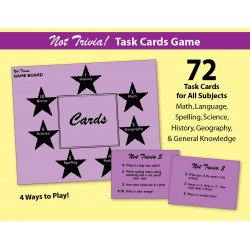 Not Trivia! Task Card Game for All Subjects (Grade 3)