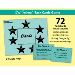 Not Trivia! Task Card Game for All Subjects (Grade 5)