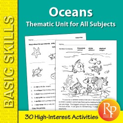 Oceans: Thematic Skill-Builder Unit for All Subjects (eBook)
