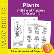 Plants: Thematic Skill-Based Activities for Grades 1-2 (eBook)