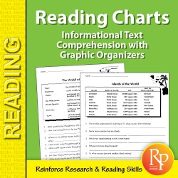 Informational Text Comprehension with Graphic Organizers: Reading Charts 2 (eBook)