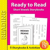 Ready to Read: Short Vowels Storybooks (eBook)
