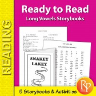 Ready to Read: Long Vowels Storybooks (eBook)