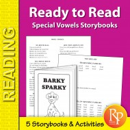 Ready to Read: Special Vowels Storybooks (eBook)