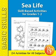 Sea Life: Thematic Skill-Based Activities for Grades 1-2 (eBook)