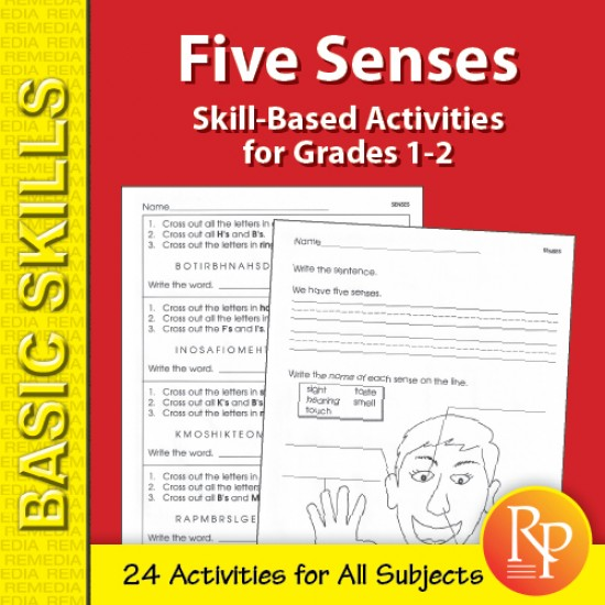 Five Senses: Thematic Skill-Based Activities for Grades 1-2 (eBook)