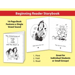 Short A: Beginning Reader Storybook
