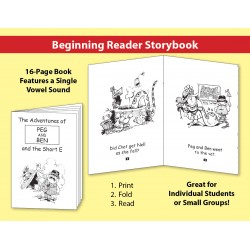 Short E: Beginning Reader Storybook
