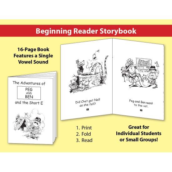 Short E: Beginning Reader Storybook