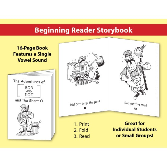 Short O: Beginning Reader Storybook