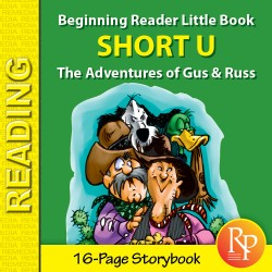 Short U: Beginning Reader Storybook
