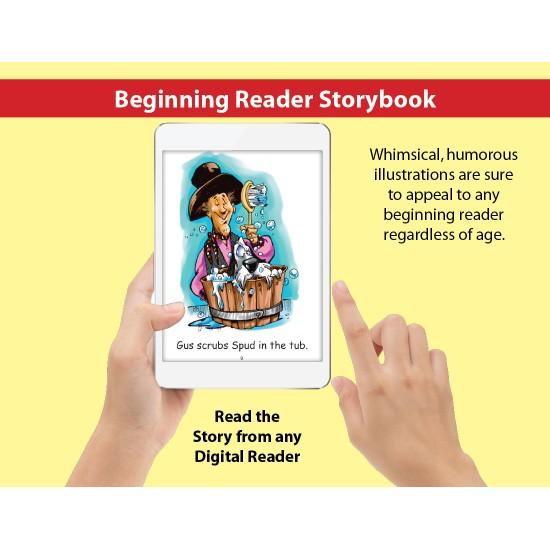 Short U: Beginning Reader Storybook