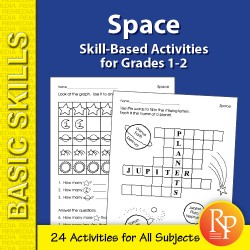 Space: Thematic Skill-Based Activities for Grades 1-2 (eBook)