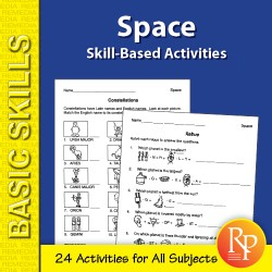 Space: Skill-Based Activities for Grades 3-4 (eBook)
