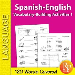 Spanish-English Vocabulary-Building Activities 1 (eBook)
