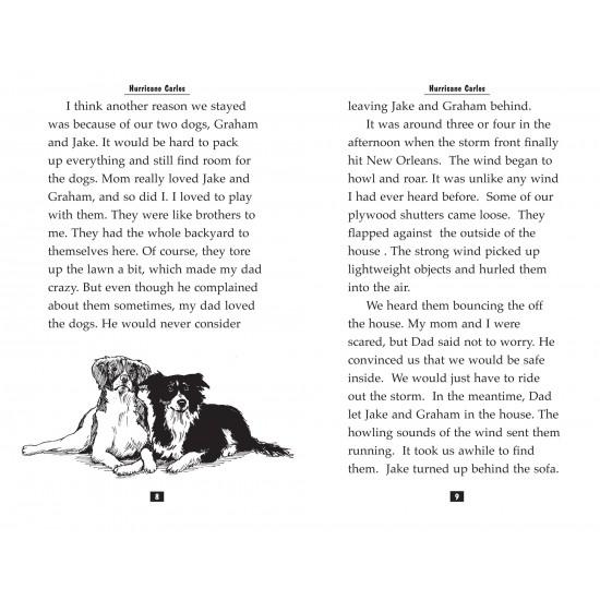 Teen Reader Storybook: Hurricane Carlos (Reading Level 3.8)