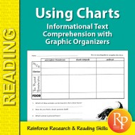 Informational Text Comprehension with Graphic Organizers: Using Charts 1 (eBook)