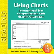Informational Text Comprehension with Graphic Organizers: Using Charts 2 (eBook)
