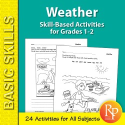 Weather: Thematic Skill-Based Activities for Grades 1-2 (eBook)