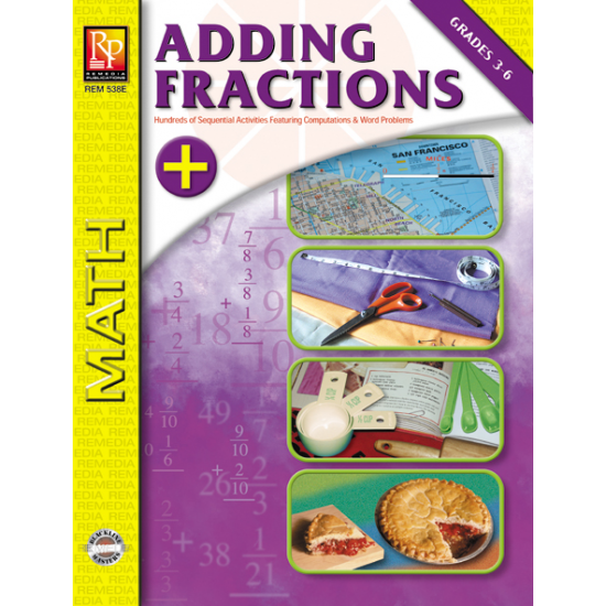 Adding Fractions (eBook)