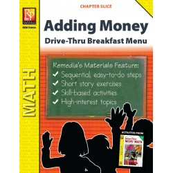 Adding Money: Drive-Thru Breakfast Menu (Chapter Slice)