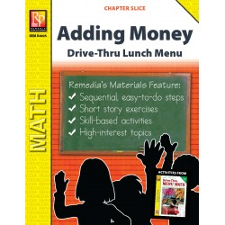 Adding Money: Drive-Thru Lunch Menu (Chapter Slice)