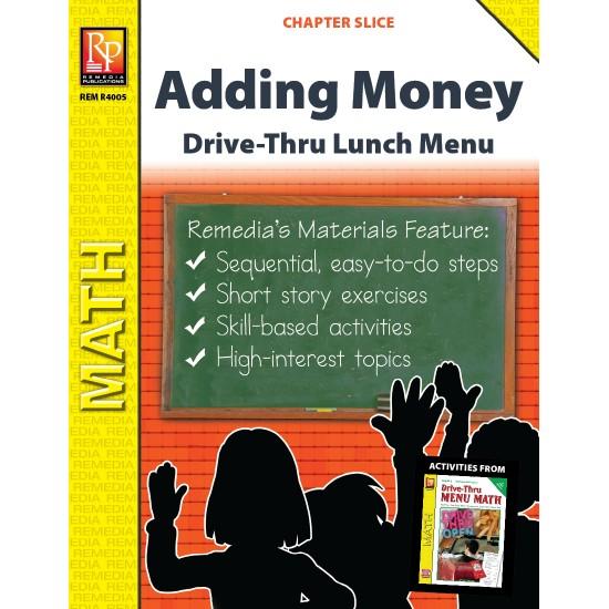 Adding Money: Drive-Thru Lunch Menu (Chapter Slice)