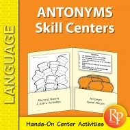 Antonyms: Skill Centers (eBook)