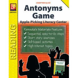 Antonyms: Apple-Picking Literacy Center Game (Chapter Slice)