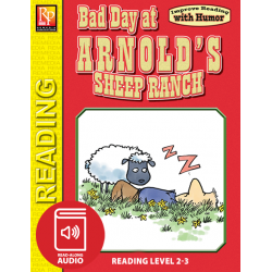 Bad Day at Arnold's Sheep Ranch: Improve Reading with Humor Storybook & Read-Along Audio