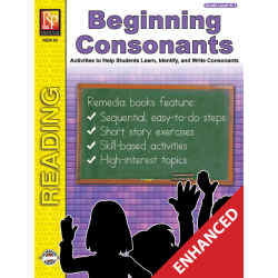 Beginning Consonants (Enhanced eBook)