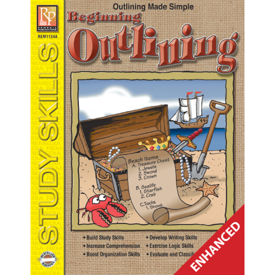 Beginning Outlining (Enhanced eBook)