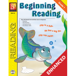 Beginning Reading - Grade 1 (Enhanced eBook)