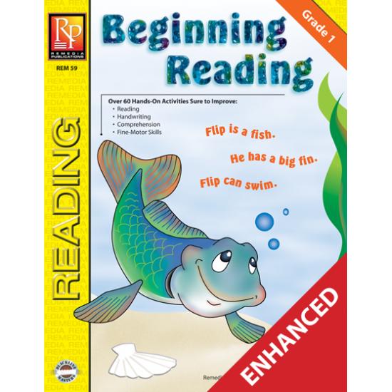 Beginning Reading - Grade 1 (Enhanced eBook)