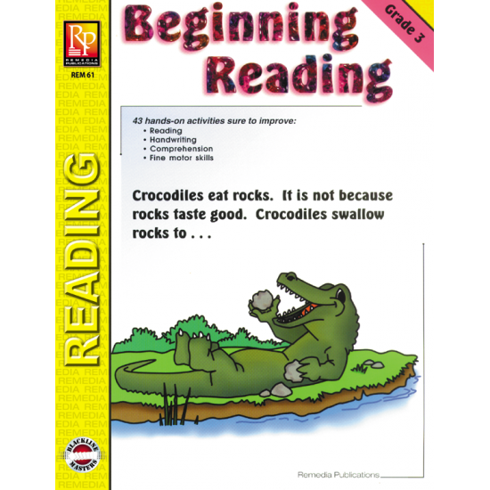 Beginning Reading - Grade 3 (eBook)