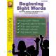 Beginning Sight Words (eBook)