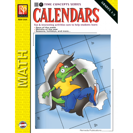 Calendars: Time Concepts for Grades 1-3 (eBook)