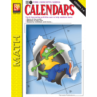 Calendars: Time Concepts for Grades 4-6 (eBook)